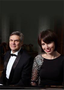 Фортепианный дуэт Наталья Котова и Валерий Боровиков