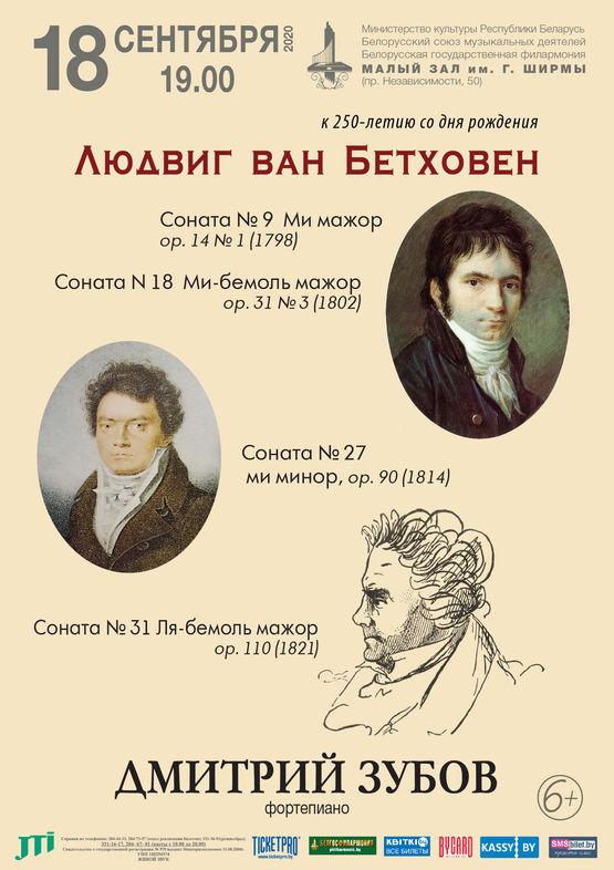 Бетховен. Фортепианные сонаты