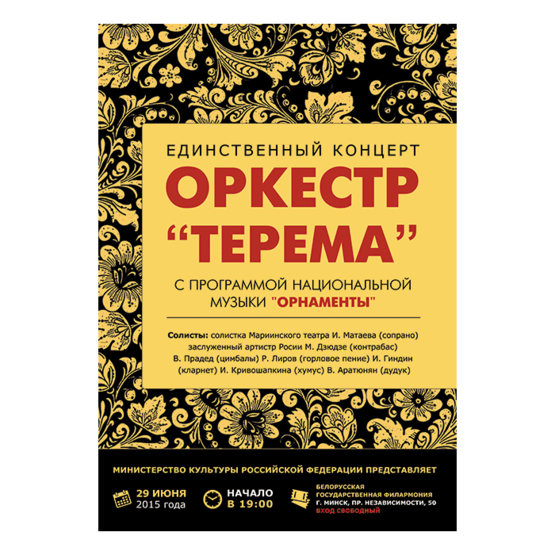 Молодежный оркестр национальных инструментов «Терема»