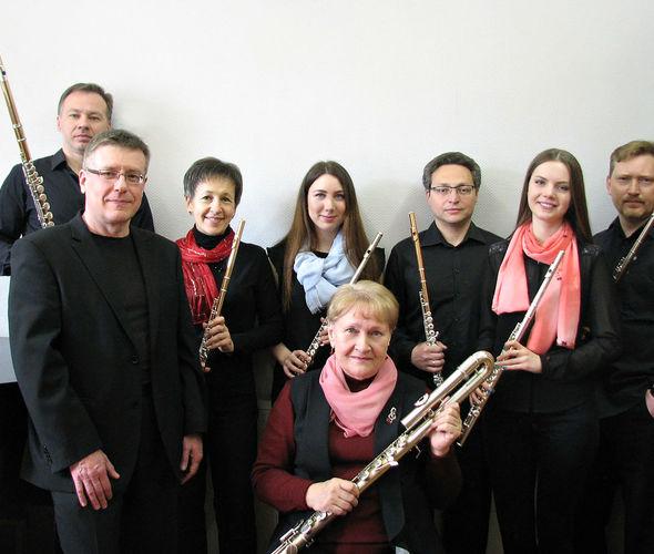 Сиринкс, ансамбль флейтистов
