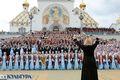 Хоровое вече. Дирижёр и координатор профессиональных хоров Наталья Михайлова